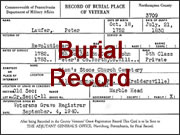Record Type: burial record